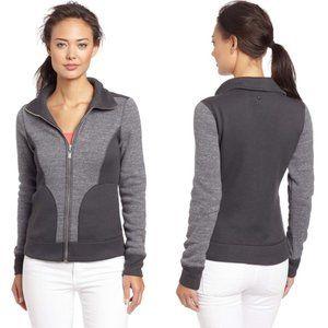 Prana Tobi Full Zip Sweater Knit Fleece Jacket